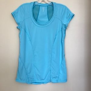 Zella Turquoise Blue Athletic Top Size M